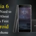 Nokia Android smartphone Nokia 6