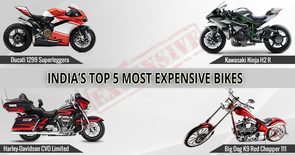 India's Top 5 Most Expensive Bikes