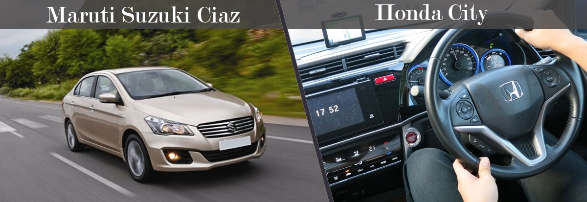 Honda City VS Maruti Suzuki Ciaz Handling and Riding
