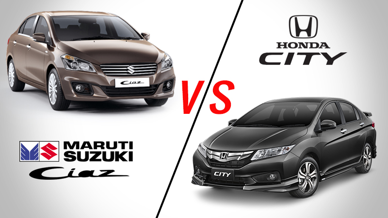 Maruti-Ciaz-VS-Honda-City