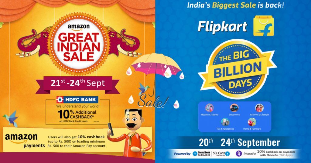 Amazon And Flipkart Offer