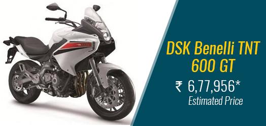 DSK Benelli TNT 600 GT