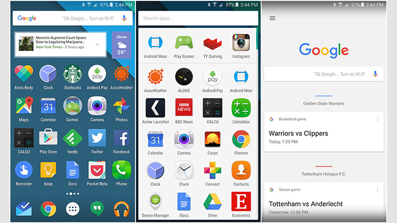 Image of Google Now Launcher