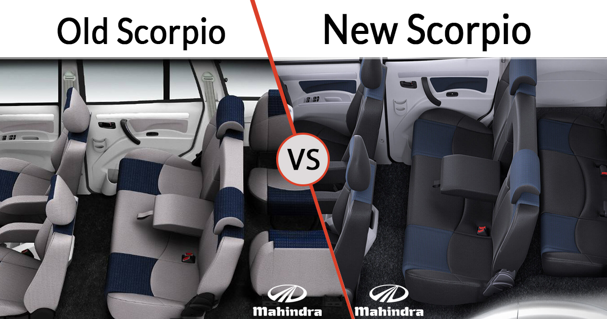 New vs Old Mahindra Scorpio Interior