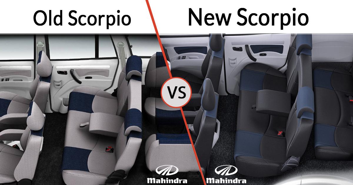 New vs Old Mahindra Scorpio Interior