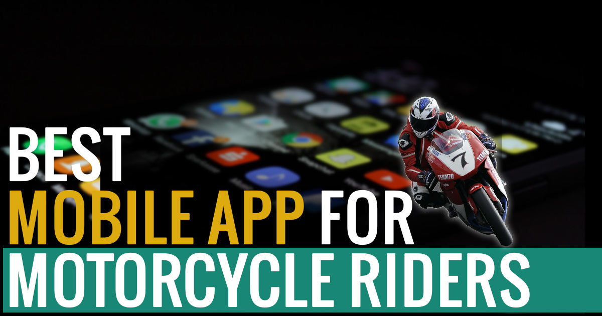 Best Mobile App for Motorcycle Riders