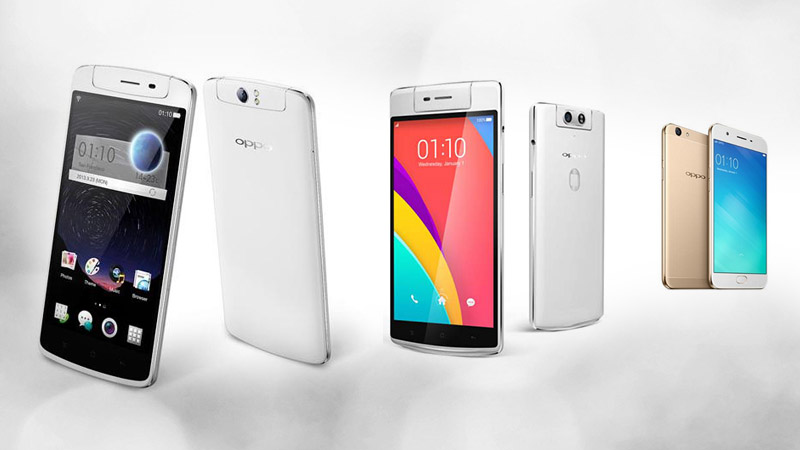 List of OPPO Smartphones