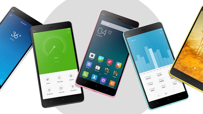 List of Xiaomi Smartphone