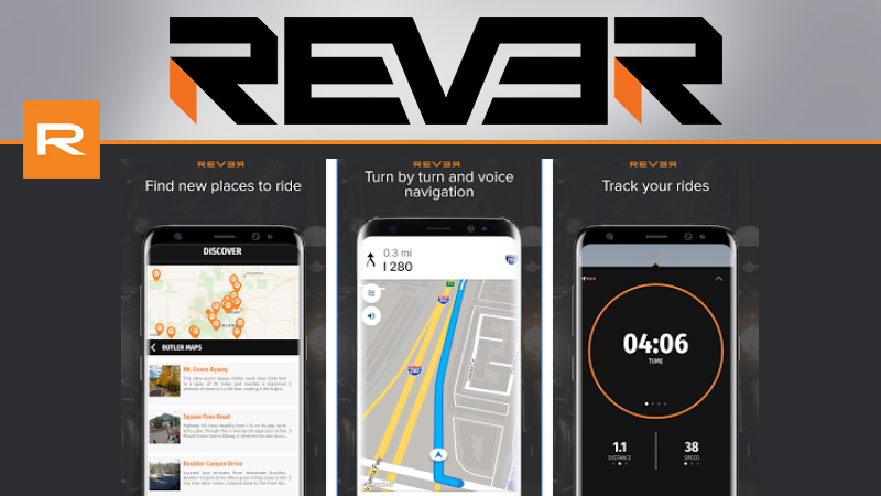 Rever Route Tracking App