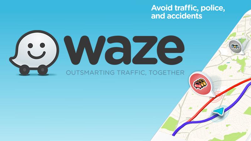 Waze Directions App