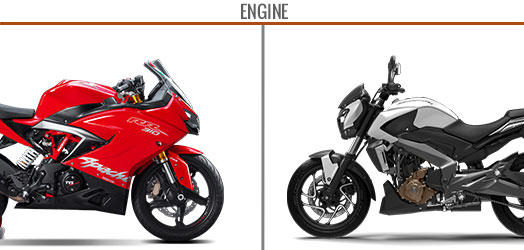 Mileage & performance: Apache RR 310 Vs Dominar 400