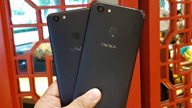 Oppo F5 vs Vivo V7 Plus Software Comparison