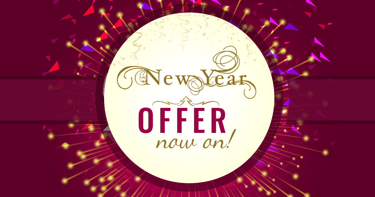 New Year 2018 Offers