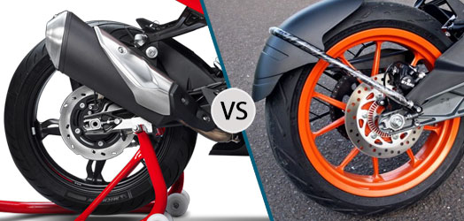 TVS Apache RR 310 vs KTM RC 390 Safety