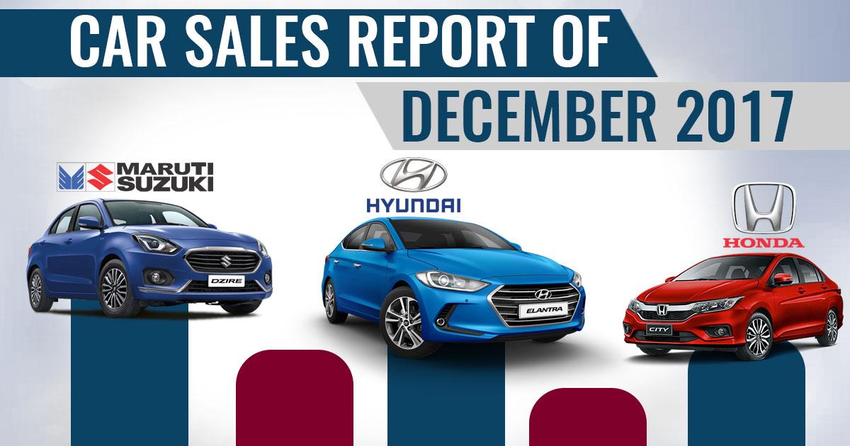 december-sales-report of cars