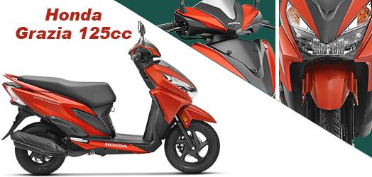 HONDA GRAZIA 125cc