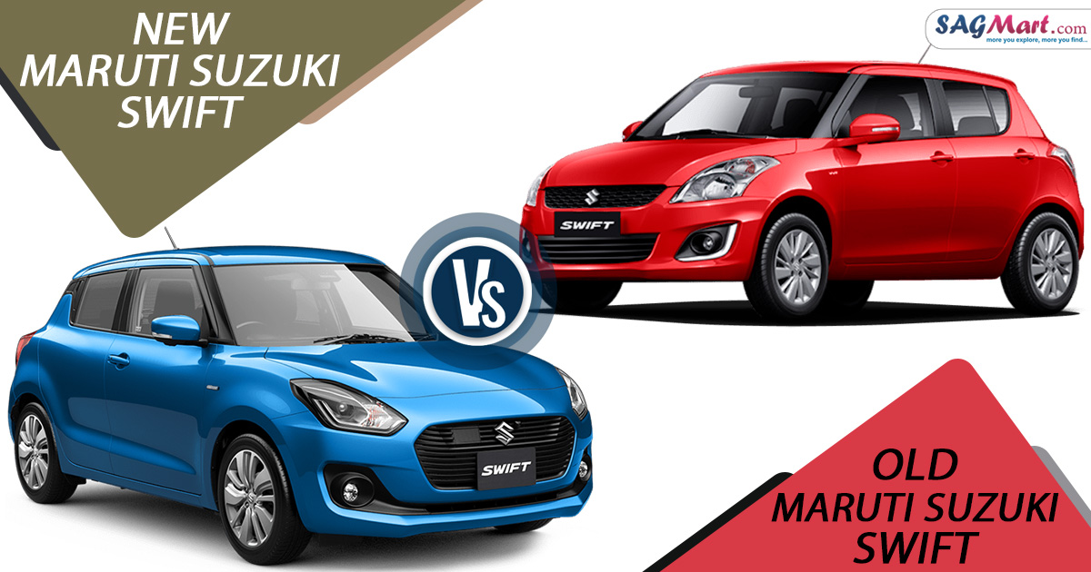 New vs Old Maruti Suzuki Swift