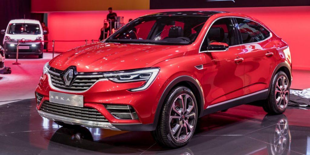 Renault-Arkana SUV 2019