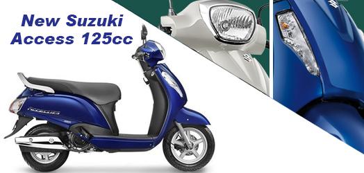 New Suzuki Access 125CC