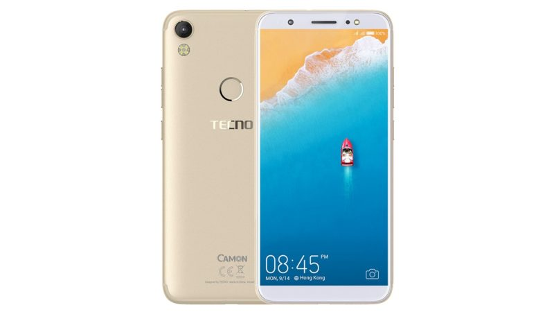 Tecno Camon i smartphone