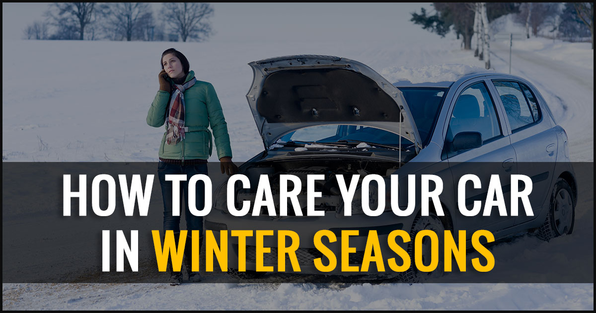 How to Care Your Car in Winter Seasons