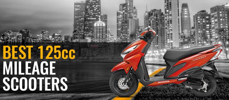 Best 125cc Mileage Scooter