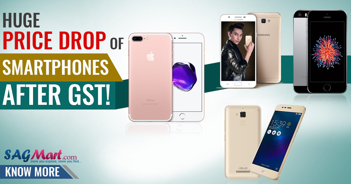 Huge Price Drop of Smartphones after GST