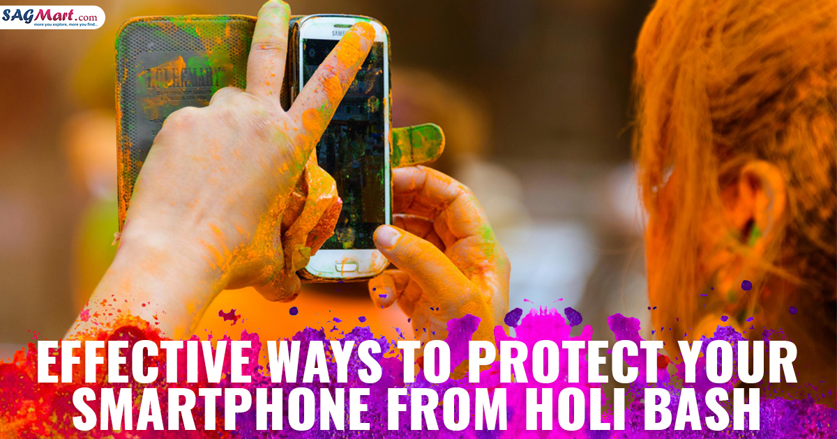 Protect Your Smartphone From Holi Bash