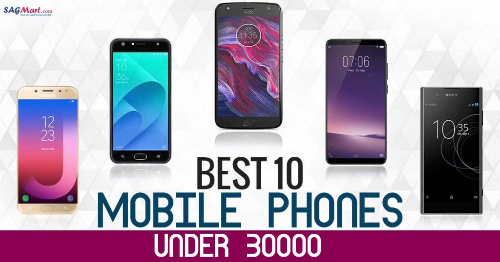 best 10 mobile phones under 30000 in india 2018 sagmart. Black Bedroom Furniture Sets. Home Design Ideas