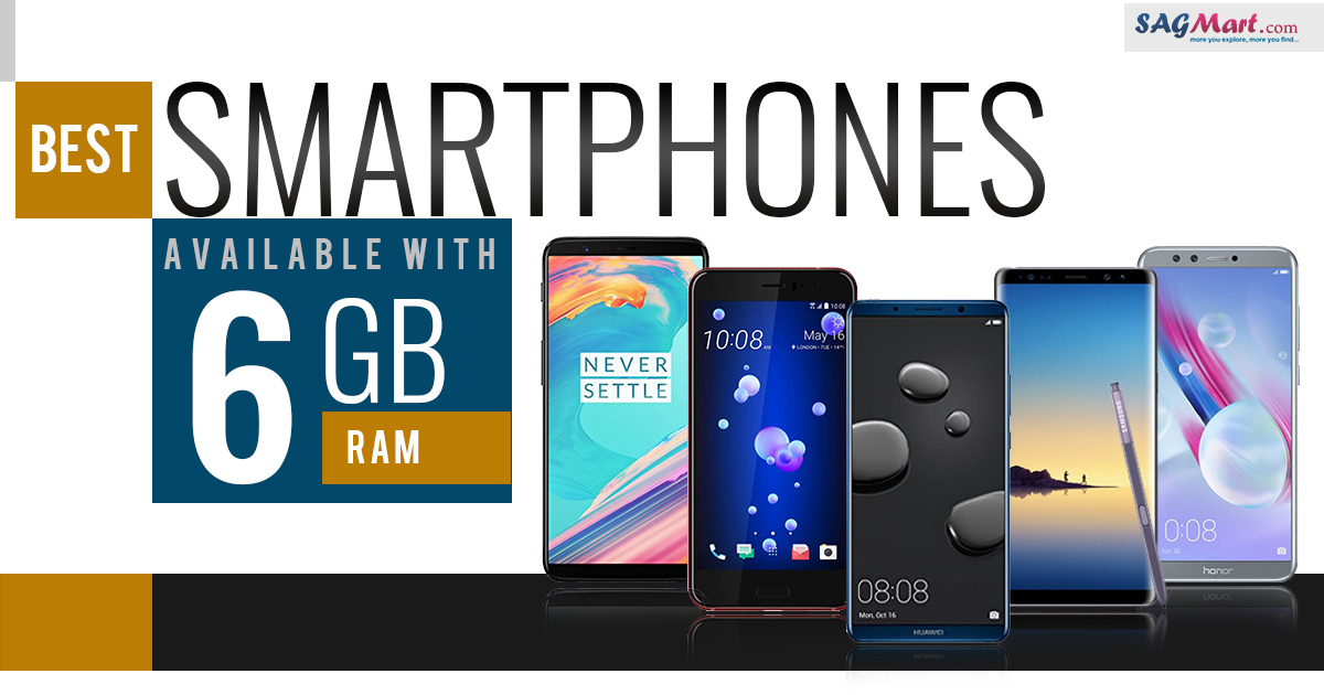 Best Smartphones Available With 6GB RAM