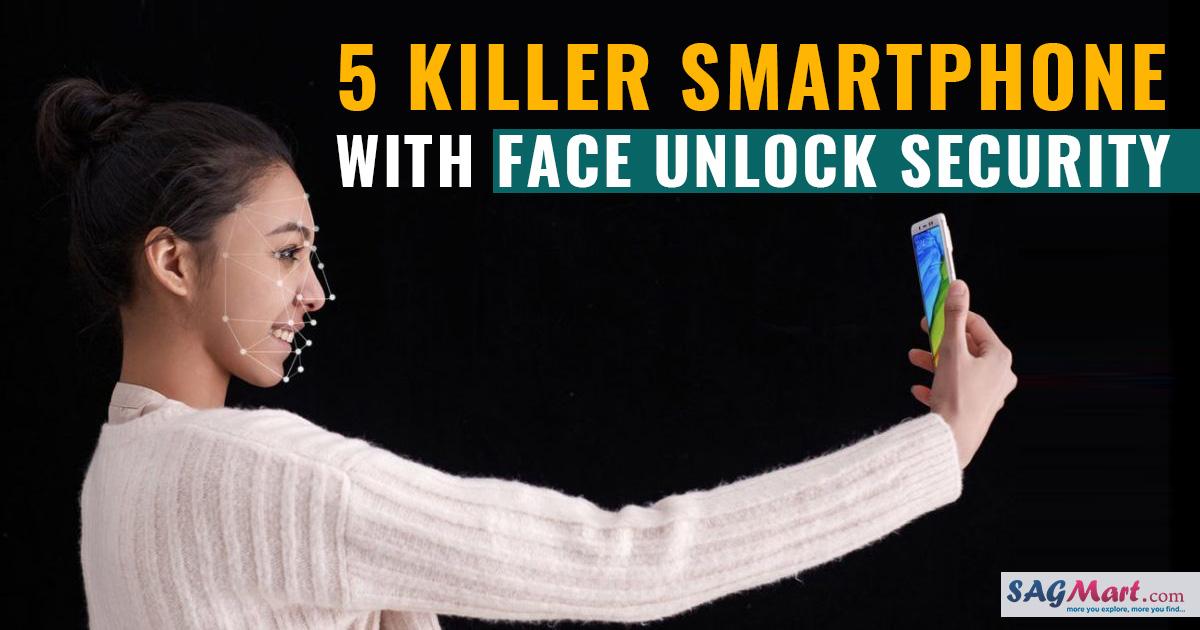 Best face unlock mobiles