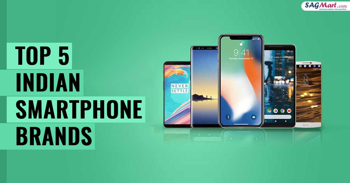 Top 5 Indian Smartphone Brands