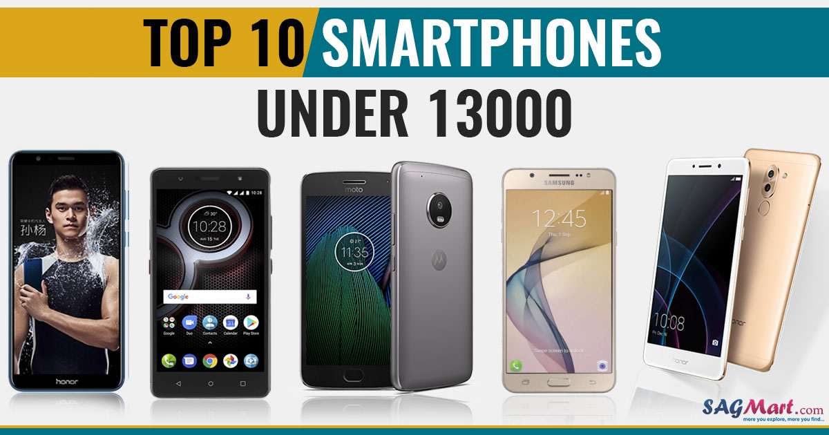 Top 10 Phones Under 13000 in India