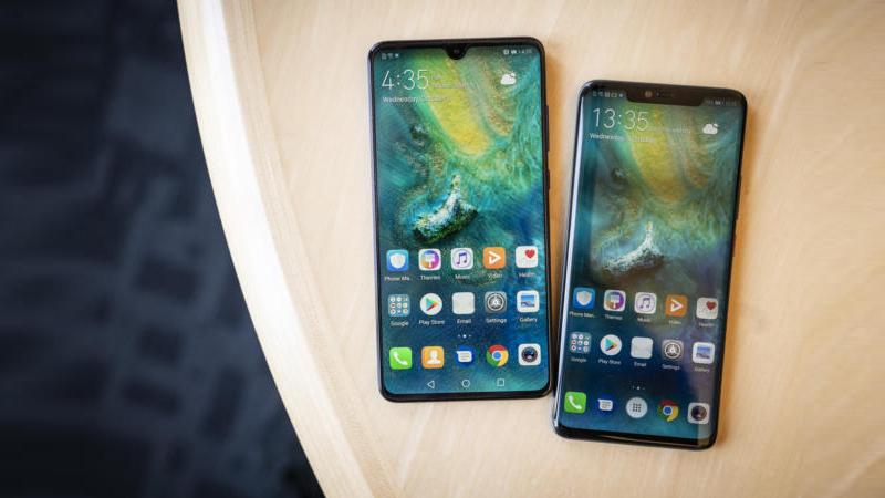 Huawei Mate 20 Pro and huawei Mate 20