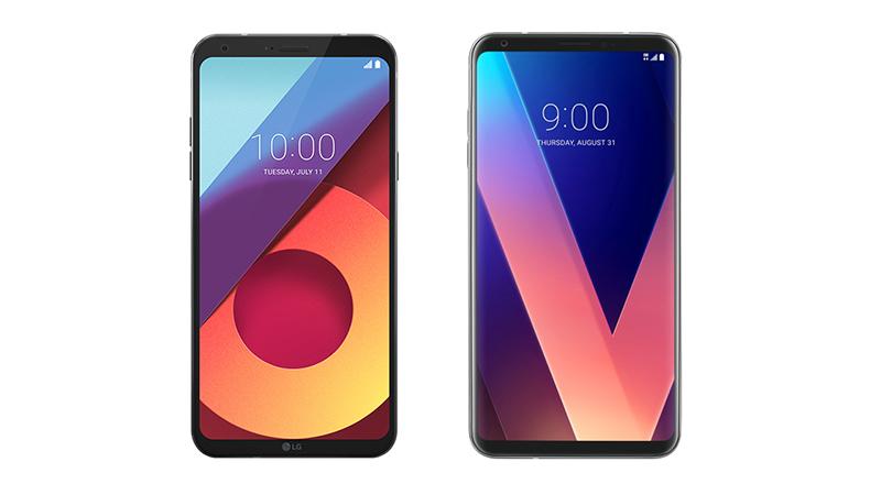 LG V30 & LG Q6 mobile