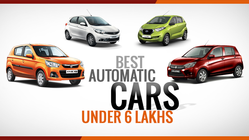 Auttomatic Cars under 6 lakhs