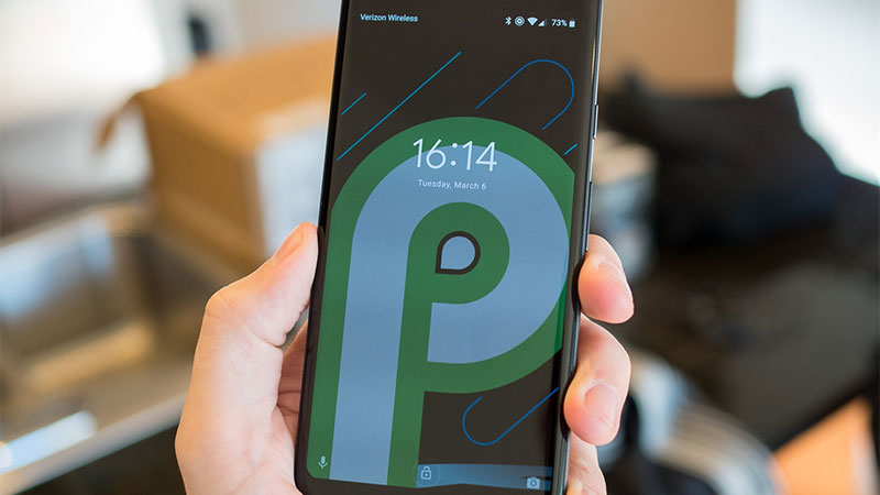 Go For Android P On A Pixel 2 XL