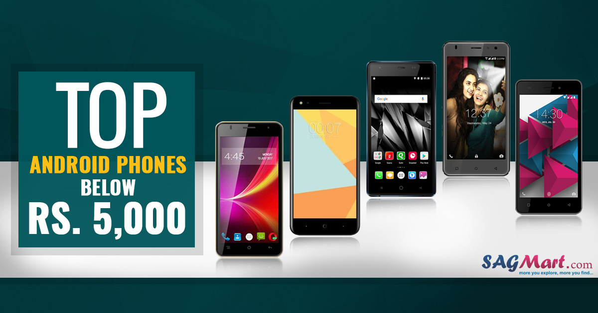 Smartphones under 5000