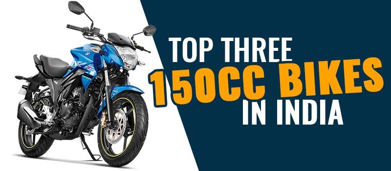 Top Three 150cc Bikes