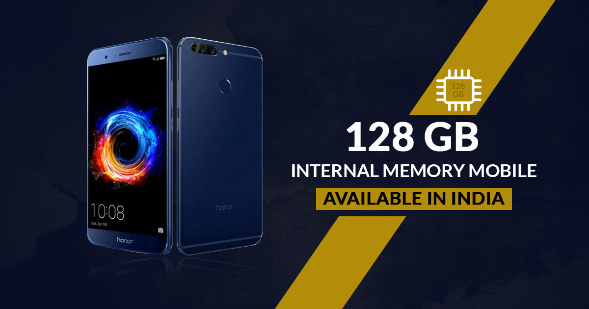 128 GB Internal Memory Mobile