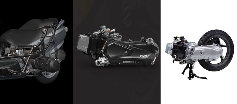 Suzuki Burgman Street 125 Vs TVS NTorq 125 Vs Honda Grazia Engine
