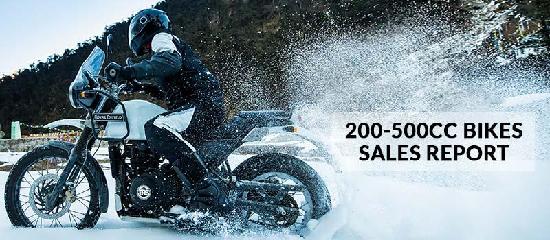 200-500cc Bikes Sales