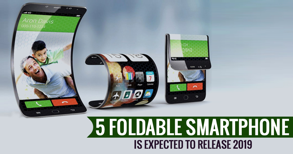 5 Foldable Smartphone