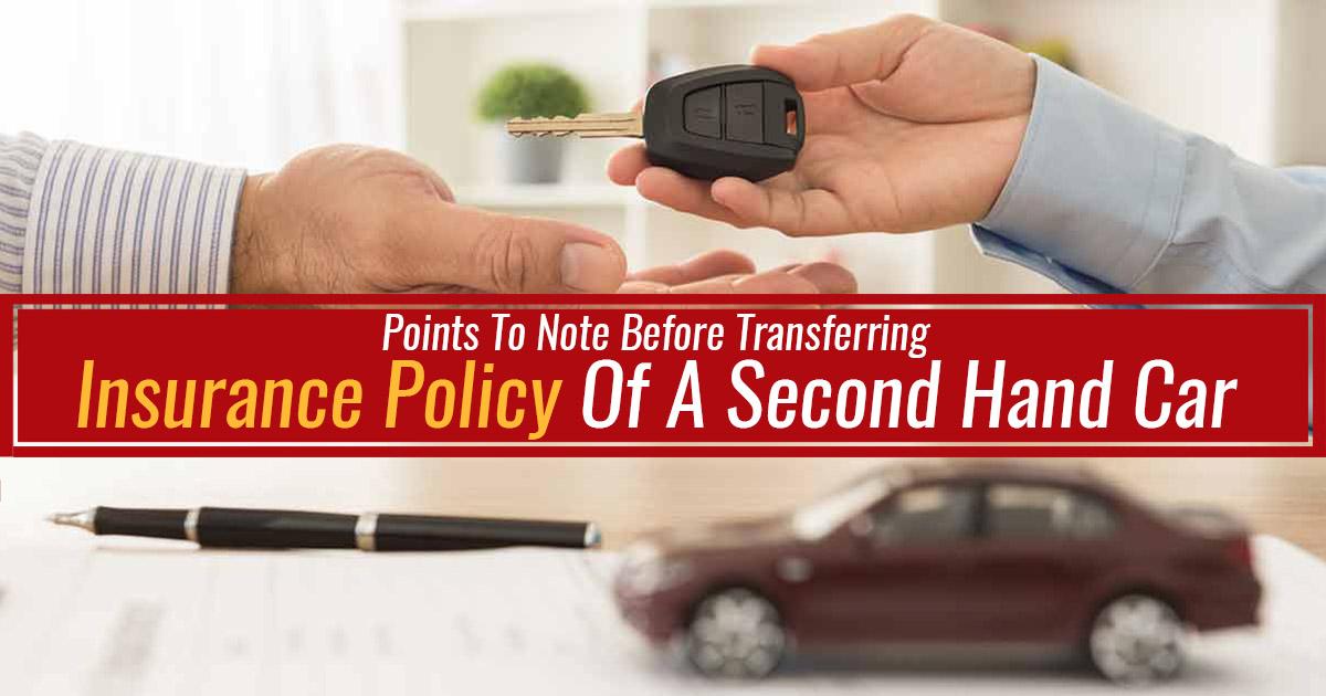 Transferring Car Insurance