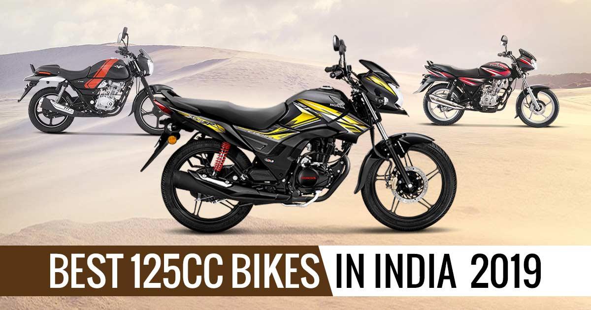 Best 125cc mileage Bikes In India 2019