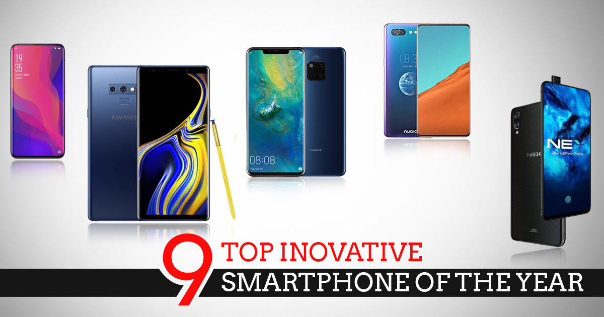 9 TOP Inovative Smartphone