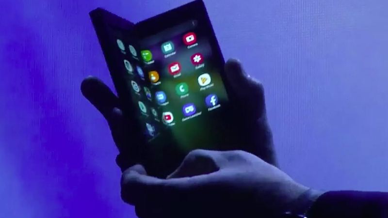 Samsung Foldable Phones.