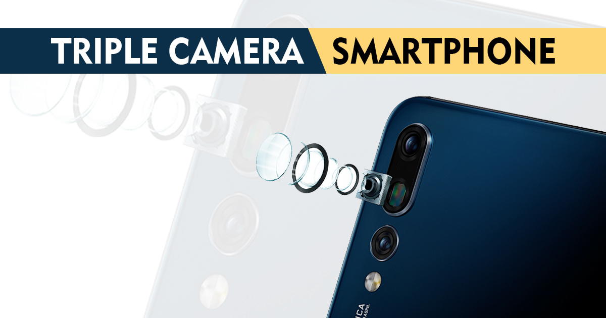 Triple Rear Camera Smartphone