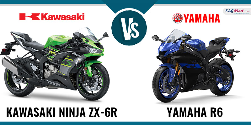Comparison Between Kawasaki Ninja Zx 6r Vs Yamaha R6 Sagmart
