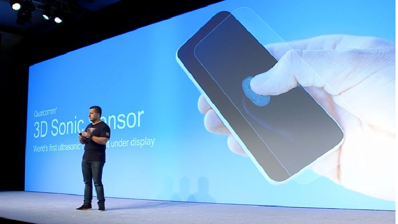 Samsung In-display ultrasonic fingerprint